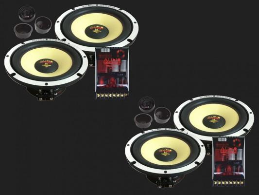 "Audio System HELON SERIES 2-Wege Doppel Compo System ""H 165-4 EVO2"""