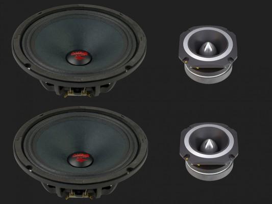 "Audio System HELON-SERIES PA 2-Wege NEO System ""H 200 PA"""