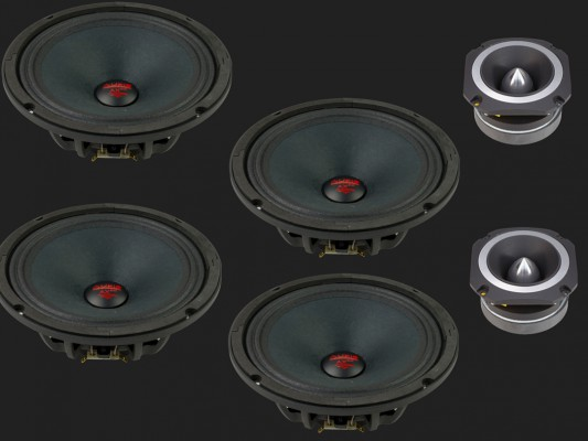 "Audio System HELON-SERIES PA 2-Wege NEO System ""H 200 PA-4"""