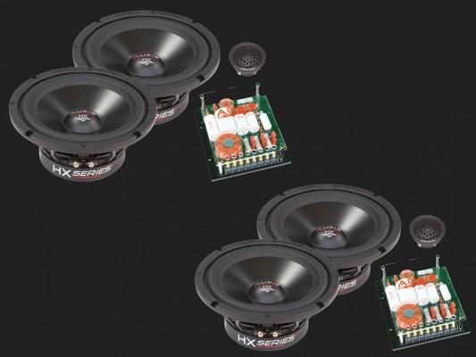 "Audio System HX SERIES 2-Wege Compo System ""HX 165-4 DUST EVO2"""