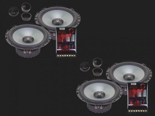 """Audio System HX SERIES 2-Wege Compo System """"HX 165-4 SQ EVO2"""""""
