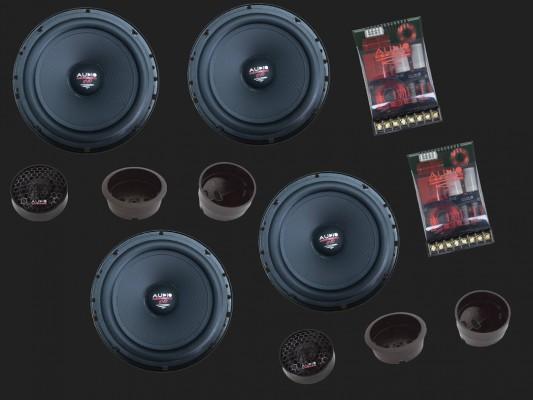 """Audio System HX SERIES 2-Wege Compo System """"HX 165-4 SQ EVO3"""""""