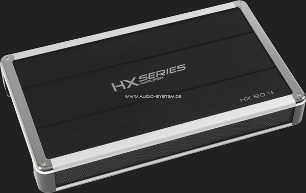Audio System HX85.4 SERIES Verstärker 4-Kanal / 4x85Watt @ 4 Ohm Stereo