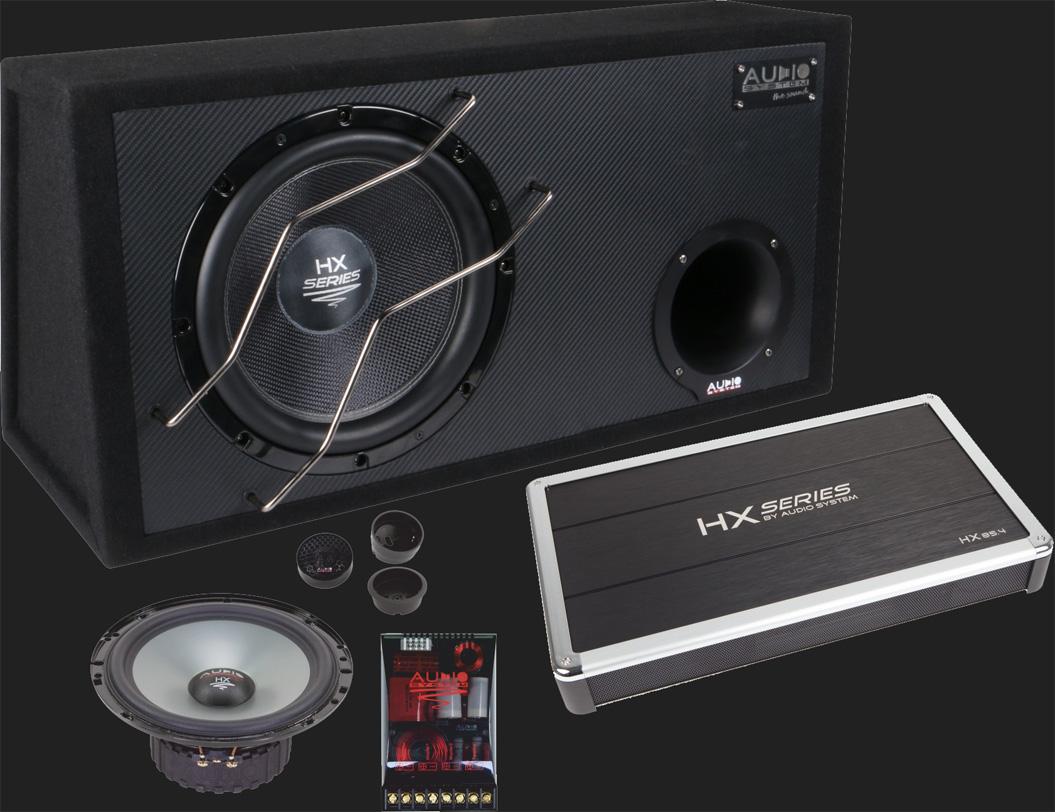 """Audio System """"HX-SERIES EVO Komplettset"""" (HX12 SQ BR/HX 85.4/HX 165SQ EVO2)"""