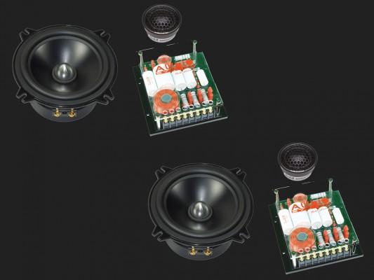 "Audio System HX SERIES 2-Wege Compo System ""HX 130 PHASE EVO2"""