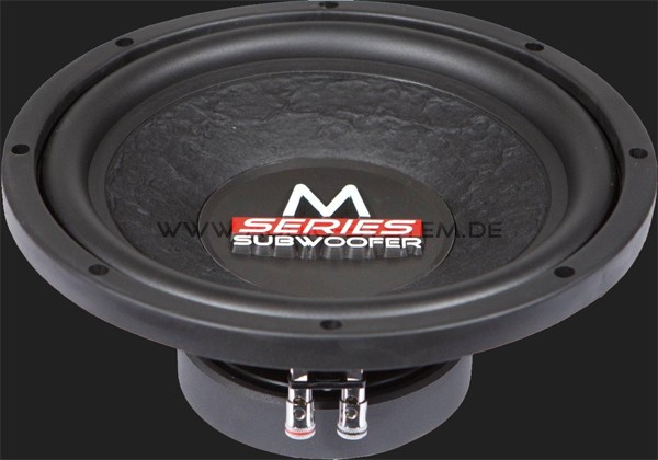 "Audio System M-SERIES 250 mm HIGH EFFICIENT Subwoofer ""M10"" Max.Power 300W"