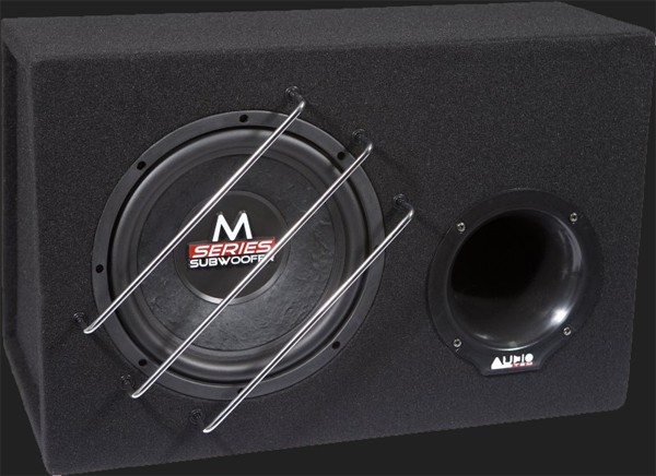 "Audio System M-SERIES Bassreflex Gehäusesubwoofer ""M10 BR"" (25cm) MAX.Power 300 Watt"