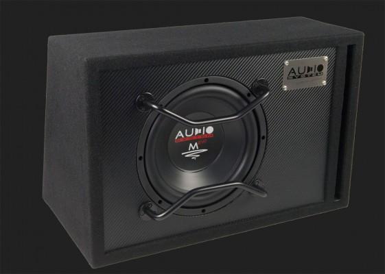 """Audio System M-SERIES EVO Bassreflex Gehäusesubwoofer """"M10 EVO BR"""" (25cm) MAX.Power 400 Watt"""