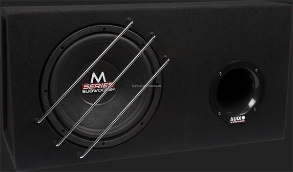 """Audio System M-SERIES Bassreflex Gehäusesubwoofer """"M12 BR"""" (30cm) MAX.Power 450 Watt (Austellungsstück)"""