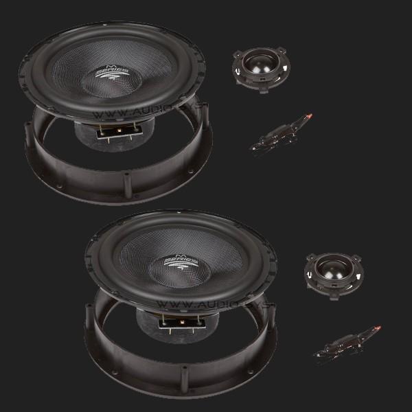 Audio System M SERIES 2-Wege Compo System M 165 VW GOLF VI + VII, SCIROCCO