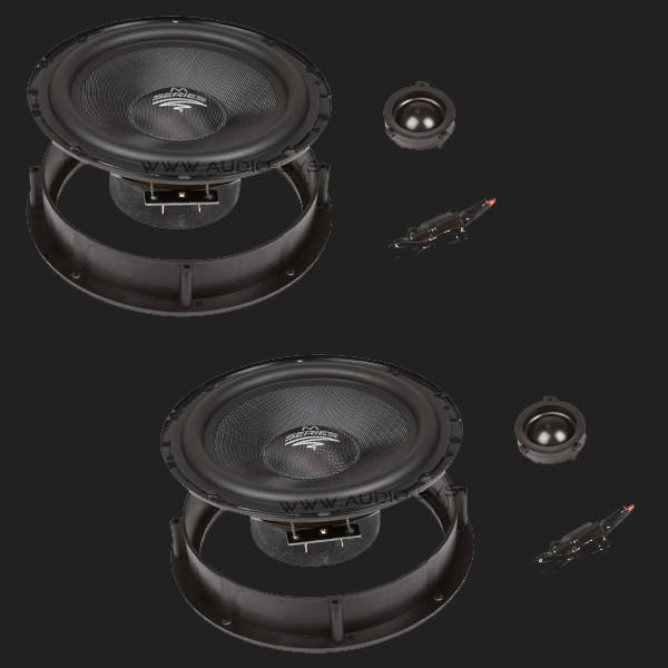 Audio System M SERIES 2-Wege Compo System M 165 VW (GOLF IV, PASSAT, BORA, Polo 9N...)