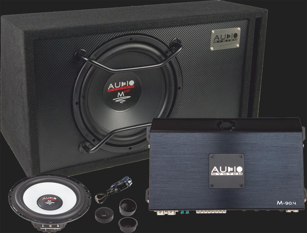 Audio System M-SERIES Komplettset (M 12 BR/M 80.4/M 100)