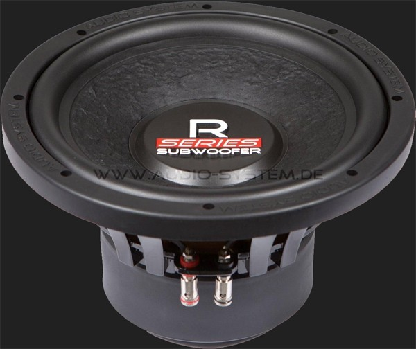 "Audio System RADION-SERIES 250mm HIGH EFFICIENT Subwoofer ""R10"" Max.Power 375W"