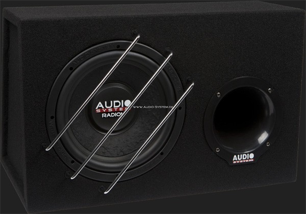 "Audio System RADION SERIES Bassreflex Gehäusesubwoofer ""R10 BR"" (25cm) MAX.Power 375 Watt (Ausstellungsstück)"