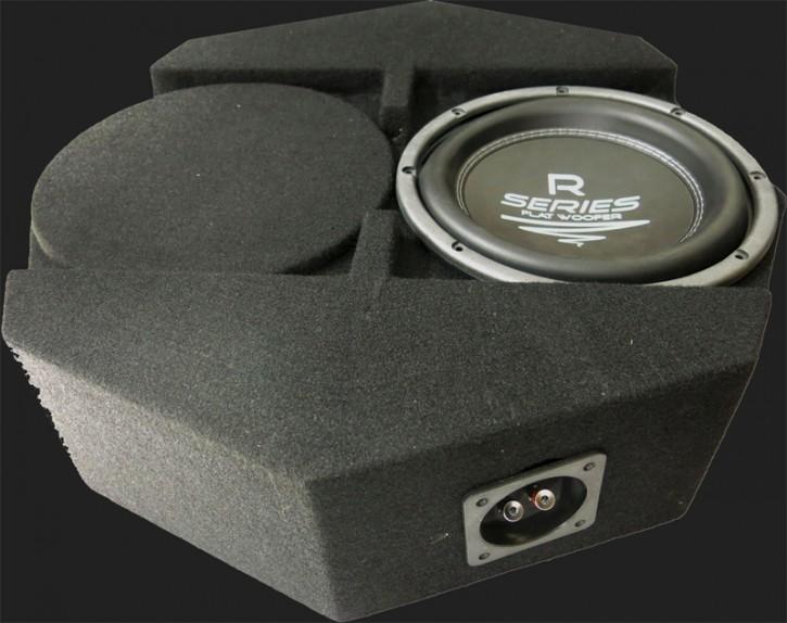 "Audio System RADION SERIES Geschlossener Gehäusesubwoofer ""R10 FLAT SUBFRAME"" (25cm) MAX.Power 350 Watt"