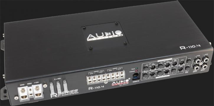 "Audio System ""R110.4"" RADION SERIES Verstärker 4-Kanal / 4x110Watt @ 4 Ohm Stereo"