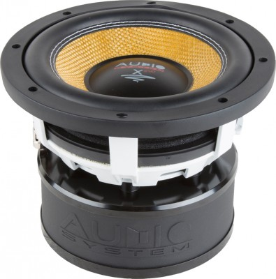 """Audio System X-ION-SERIES 200mm Langhub Subwoofer """"X 08"""" Max.Power 400W"""