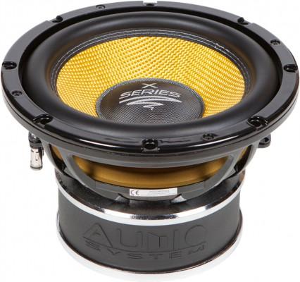 "Audio System HELON-SERIES 250mm Langhub Subwoofer ""X 10"" Max.Power 550W"