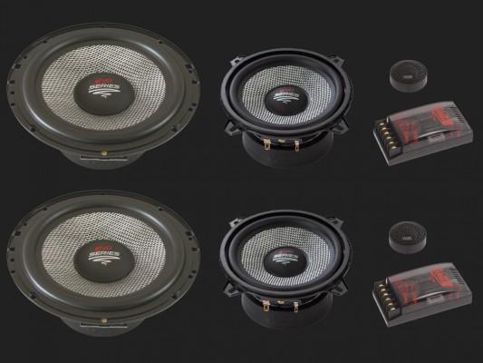 "Audio System X--ION SERIES 3-Wege Compo System ""X 165/3 EVO2"""