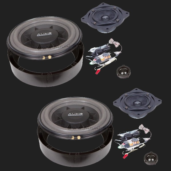 Audio System X--ION SERIES 3-Wege Compo System X 200 VW Golf V PLUS