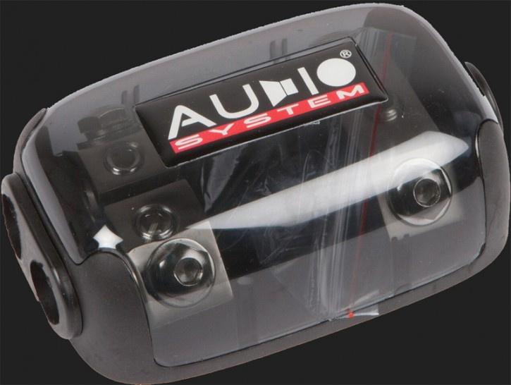 Audio System HIGH-END 2-fach ANL Verteiler (In: 1x35-50mm² Out: 2x35-50mm²)