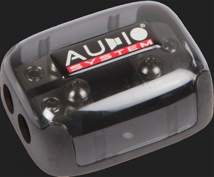 Audio System HIGH-END 2-fach MINI ANL Verteiler (In: 1x20-35mm² Out: 2x10-25mm²)