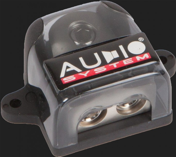 Audio System HIGH-END 3-fach Verteilerblock (In: 1x25-50mm² Out: 2x10-25mm²)