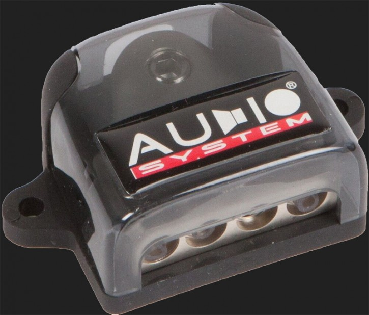 Audio System HIGH-END 5-fach Verteilerblock (In: 1x25-50mm² Out: 4x10mm²)