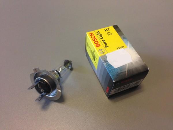 Bosch Halogen-Lampe Pure Light H7 12V/55W (1 Stück)
