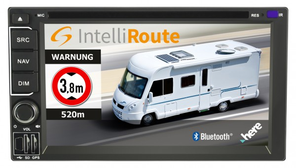 "CARGUARD ""IntelliRoute CA9100 DAB"" Reisemobil- Navigationssystem 2-DIN 6""(15,2cm)"