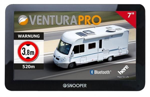 "Snooper ""VENTURA PRO S8110"" Portables Reisemobil- & Wohnwagen-Navigationssystem mit 7 Zoll (17,8 cm) Display / DVB-T2"