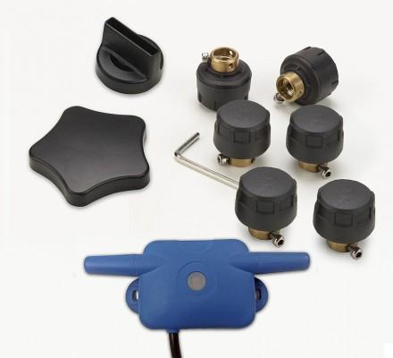 SNOOPER Tyre Pilot für Ventura SC5800/S6800/S6810/S8100/S8110/C8500 u. IntelliRoute 6000/8020/8050 (Set für 6 Reifen bis 8 bar) Reifendruckkontrollsystem