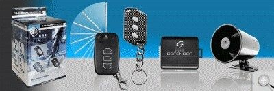 Car Guard Defender Compact II Key