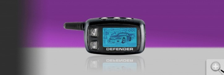 Car Guard Defender Screen 4-Tasten Display Fernbedienung