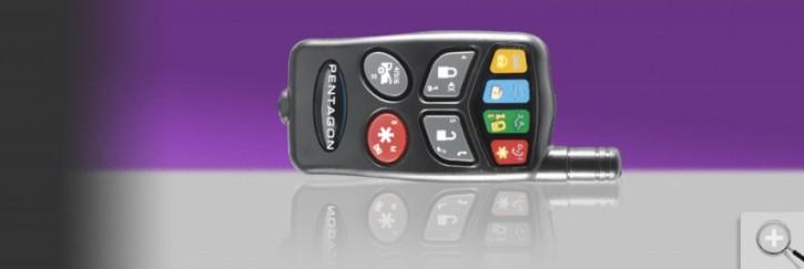 Car Guard Pentagon2 4-Tasten LED-Fernbedienung