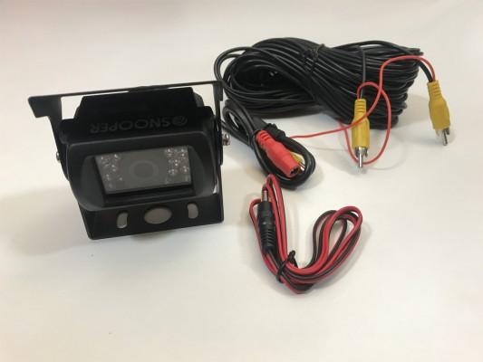 Snooper 12V/24 Farb-Rückfahrkamera 120° in schwarz