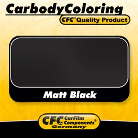 CFC® Vollverklebungsfolie Serie 200 kalandriert 70µ 1.524 x 1,00m Black Matt
