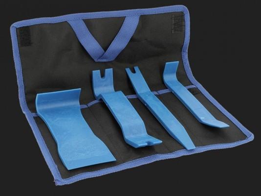 CHP Montagehebelset aus Kunststoff 4-teilig mit Tasche