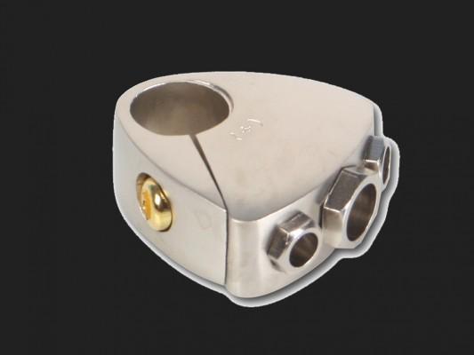 """CHP Batterie Anschlußklemme """"MINUSPOL"""" (1x20mm² und 2x10mm²)"""