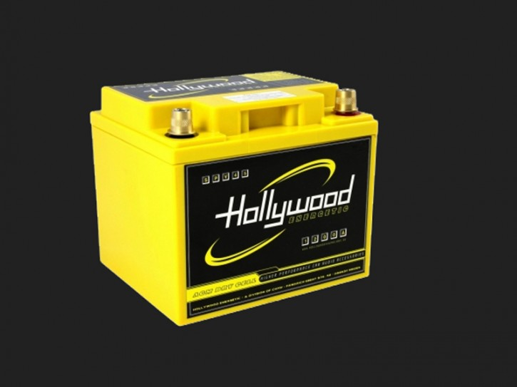 "Hollywood ENERGETIC 12V AGM Batterie ""SPV 45"" 45Ah bis 2400 Watt"