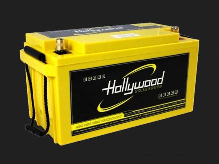 "Hollywood ENERGETIC 12V AGM Batterie ""SPV 70"" 70Ah bis 3500 Watt"