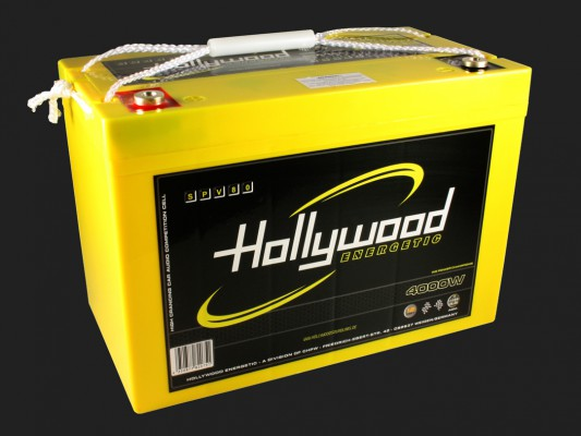 "Hollywood ENERGETIC 12V AGM Batterie ""SPV 80"" 80Ah bis 4000 Watt"