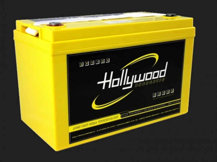 "Hollywood ENERGETIC 12V AGM Batterie ""SPV 100"" 100Ah bis 5000 Watt"