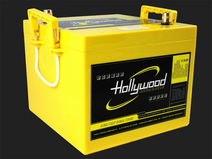 "Hollywood ENERGETIC 14V AGM Batterie ""SPV14 30"" 30Ah bis 2000 Watt"