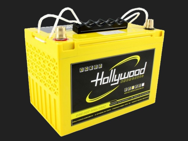 """Hollywood ENERGETIC 14V AGM Batterie """"SPV14 50"""" 50Ah bis 3000 Watt"""