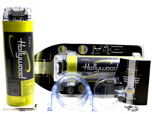 "Hollywood HIGH CURRENT Powercap ""HCM 1"" 1Farad"