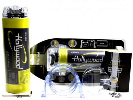 "Hollywood HIGH CURRENT Powercap ""HCM 2"" 2Farad"