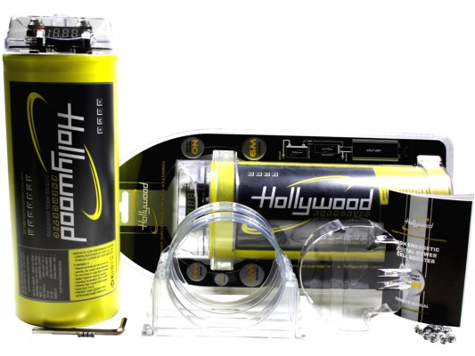 "Hollywood HIGH CURRENT Powercap ""HCM 6"" 6 Farad"