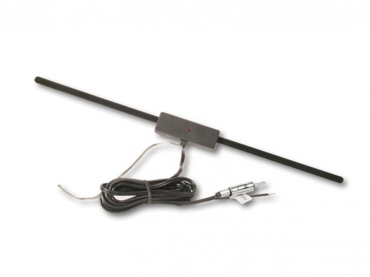 CHP Scheibenklebe-Antenne mit DIN Stecker