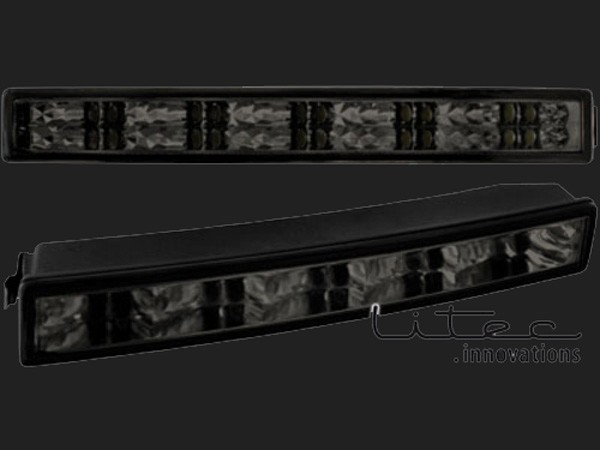 dectane LITEC Tagfahrlicht 20 LED LxHxT 232x30x40 mm (2 Stück ) black inkl. Tagfahrlicht-/Positionslichtmodul